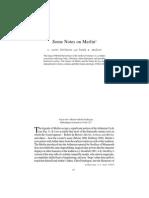 Some Notes on Merlin - C. Scott Littleton and Linda a. Malcor