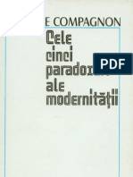 on A. - Cele 5 Paradoxuri Ale Modernitatii