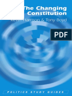 Kevin Harrison, Tony Boyd-The Changing Constitution (Politics Study Guides) (2006)