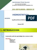 HIDROSTATICA DE FLUIDOS