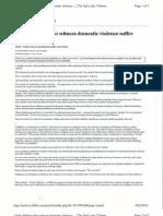 utah children who witness demostic violence article 4