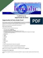 Manual de Sistematic - CAPITULO X - Importación de Datos