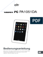 JAY-tech Tablet PC PA1051DA Manual De