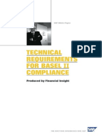 Technical Requirements for Basel II