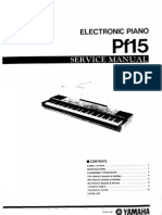 Yamaha PF-15 service manual