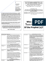 Who are the twelve successors of the prًophet Mohammed (a) ??