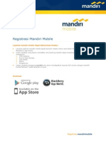 Registrasi Mandiri Mobile