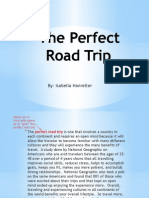 The Perfect Road Trip Ppt