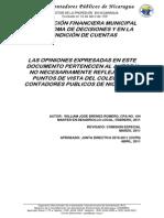 Ccpn - Informacion Financiera Municipal en La Toma de Decisiones 5-04-2011