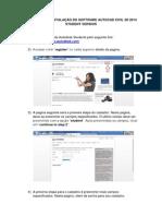 Manual Para Instalação Do Software Autocad Civil 3d 2014 Student Version