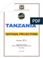 Tanzania Population Projections