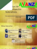 Avanza Usm Propuestas de Trabajo y Proyectos Federativos