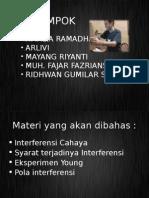 INTERFERENSI CAHAYA