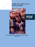 THE PEACE CORPS | KYRGYZ REPUBLIC WELCOME BOOK | JANUARY 2015