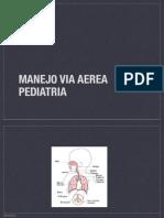 Manejo via Aerea Pediatria