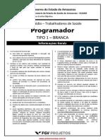 2014 - FGV - SUSAM-AM - Programador