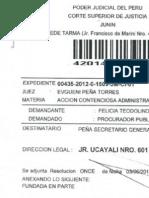 Ley 25303 Juicio ganado Junin-30% aumento-Zonas Urbano-marginales y Rurales
