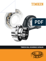 Ball Bearing Catalog by Timken