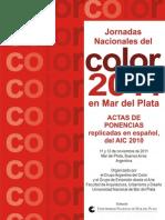 Jornadas Nacionales del Color 2011 en Mar del Plata