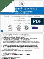 U1 Conceptos sobre riesgos profesionales y técnicas de prevención
