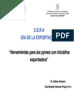 Herramientas para las Pymes con iniciativa exportadora