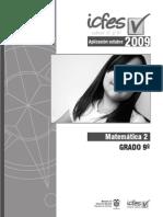 Cuadernillo Pruebas Saber 9 (2009)
