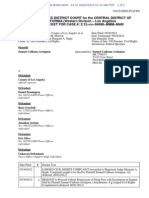 DOCKET REPORT Samuel Calhoun Arrington v County of Los Angeles, CAWD 2-12-cv-04698 (30 May 2012)