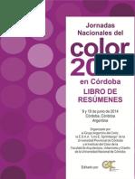 Jornadas Nacionales del Color 2014 en Córdoba