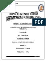 Informe Plantas Hidrotermicas y Geotermicas Grupo 4