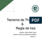 Teorema de Thales y Regla de Tres.doc