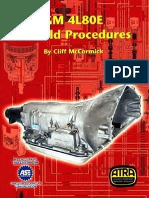 Atra 4l80e Rebuild (Gm)   Clutch   Manual Transmission