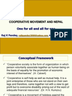 8-Cooperative Movement in Nepal With Music