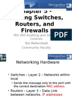Chap 5 Switches, Routers, And Firewalls