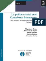 Di Virgilio Chiara - La Politica Social en El Conurbano Bonaerense