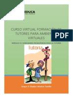 Propuesta de Intervención del tutor virtual