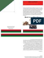 black love march pamphlet 1