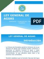 Ley General de Aguas