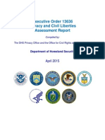 2015 EO 13636 Assessment Report-FINAL04!10!2015