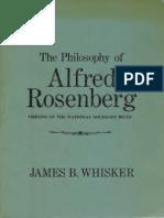 Philosophy of Alfred Rosenberg