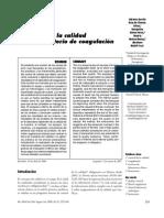 Automatizacion Perfil de Coagulacion