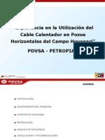 Presentacion Experiencia Cable Calentador en PP