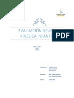 Ejemplo Evaluación Neuro Kinésica Infantil