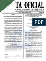 Sumario Gaceta Oficial 39.359