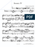 Bach WF - Sonata IV