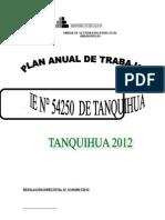 Plan- Reglamento 2012
