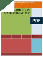 Mantenimiento de Bombas Hidraulicas