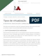 Tipos de Virtualização _ Projetos e TI