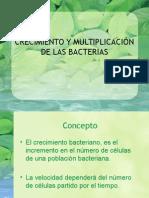 """7.- Crecimiento y Multiplicaciã""""n de Las Bacterias"""