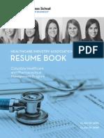 Columbia Resume Book