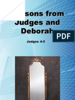 Lessons From Judges and Deborah